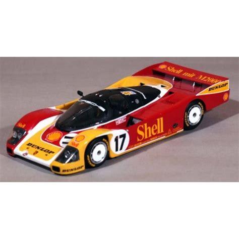 The most common porsche model kit material is metal. 1/43 Porsche 962 C Shell Dunlop Le Mans 1988 Profil 24 ...