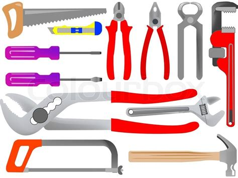 Images Of Tools Tools Isolated On White Background Abstract