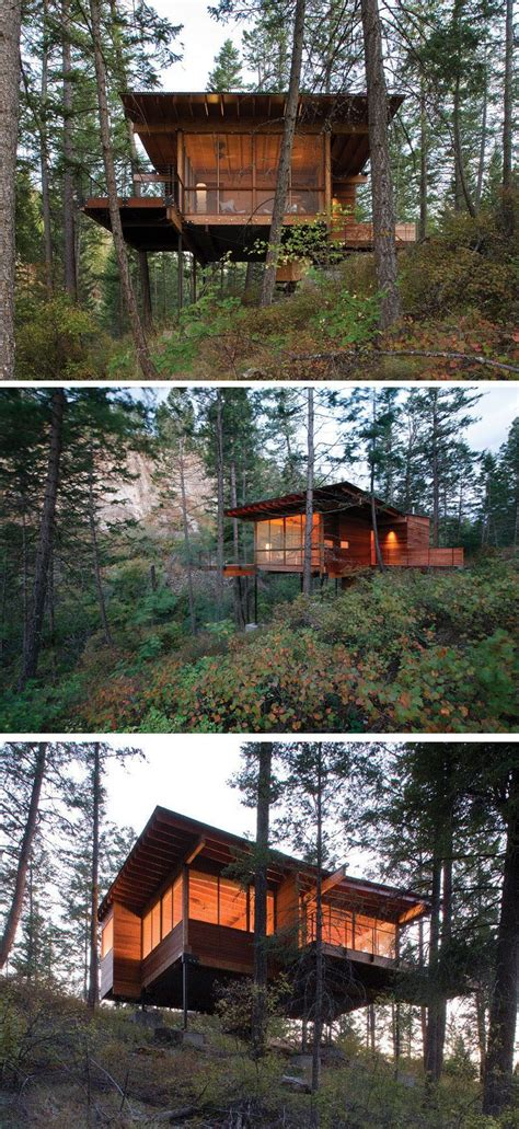 18 modern houses in the forest cabin forest house