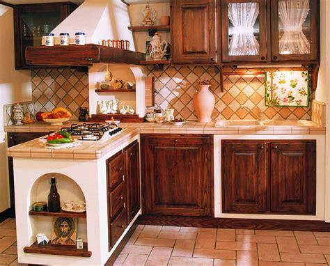 le pareti in legno o 30 cucine in muratura rustiche dal design classico mondodesign it