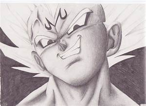 Majin Vegeta by madcroonage on DeviantArt