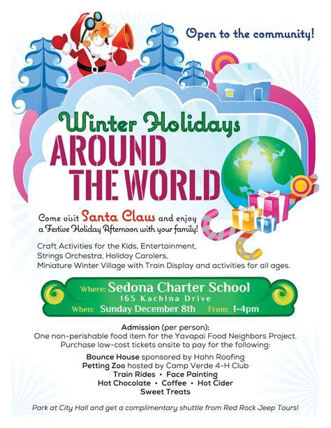 winter holidays world sedona charter school montessori