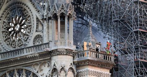 notre dame fire treated  accident  interior snaps