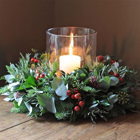 christmas table wreath centerpieces ideas for table decorations corner