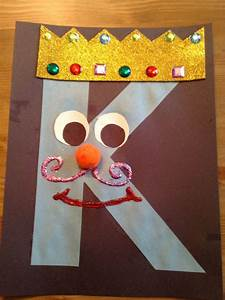 letter k crafts google search our secret crafts With letter art ideas