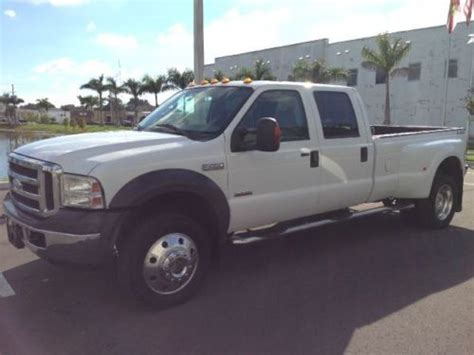 auto repair manual online 2012 ford f450 seat position control find used 2005 ford f450 lariat crew cab 4wd dually clean leather in largo florida united