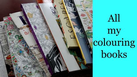 colouring book collection youtube