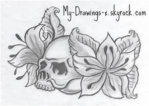 Tete De Mort Fleur : t te de mort fleurs a venir ~ Mglfilm.com Idées de Décoration