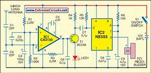 Mobile Bug Detector Circuit Diagram