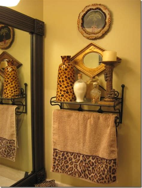 Leopard And Bathroom Decor by 17 Best Images About Leopard Golden Bathroom On