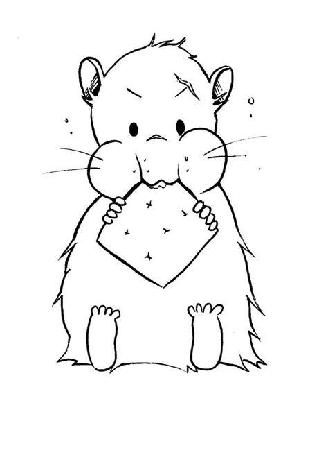 malvorlagen fur kinder ausmalbilder hamster kostenlos