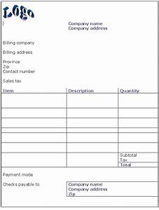 hotel invoice template doc invoice example With invoice template download doc