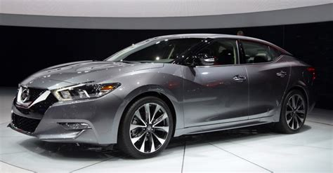 New 2015 Nissan Maxima by Nissan S Stunning All New 2016 Maxima Revealed In New York