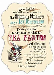 beautiful mad hatter tea party invitations for additional With mad hatter tea party invitation template free