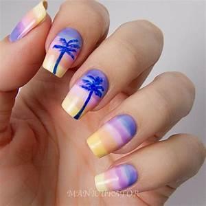 Summer Holiday Acrylic Nails | Nail Ideas | Pinterest ...