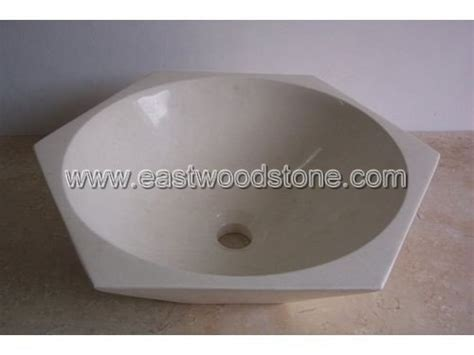 hexagon shape marble sink buy marble sink hexagon marble