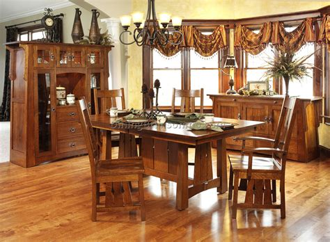 craftsman style dining room furniture best dining room