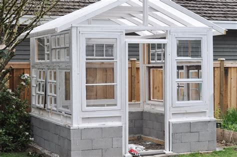 The purpose of greenhouse is protect your seedlings and growing plants from cold and critters. Build a Greenhouse From Vintage Windows | Hometalk