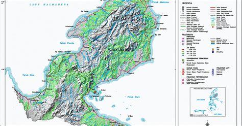 peta kota peta kabupaten halmahera timur