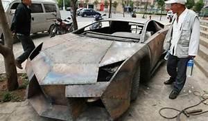 Overkill: Lamborghini Reventon in Steel - GTspirit