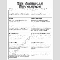 Free American Revolution Task Cards Product From Theteachingchameleon On Teachersnotebookcom