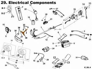 Electrical Parts   Get 2 It Parts  Llc  Atv  Scooter  Go