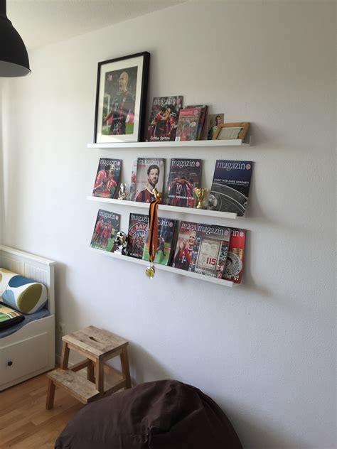 Kinderzimmer Jungs Ikea by Kinderzimmer Jungs Fanwand Bilderleiste Ribba Ikea