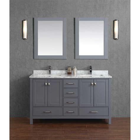 36 inch medicine cabinet buy vincent 60 quot solid wood bathroom vanity in