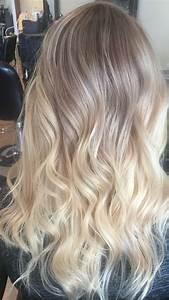 Ombré Hair Blond Foncé : ashy blonde ombr balayage hair i did hair ombre hair blonde hair ~ Nature-et-papiers.com Idées de Décoration