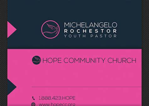 modern pastor business card template godserv designs