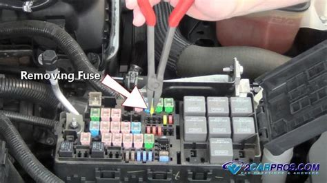 Wiring Diagram Chrysler Crossfire Spoiler by How To Replace A Fuse In 5 Minutes