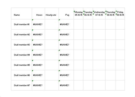 Employee Daily Work Schedule Template by Daily Work Schedule Template 17 Free Word Excel Pdf