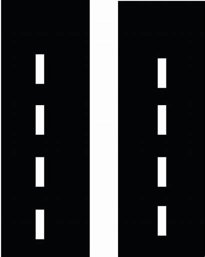 Road Straight Clipart Clip Roads Town Cliparts