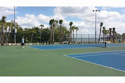 Pickleball Tennis Courts Key Park Longboat Bayfront
