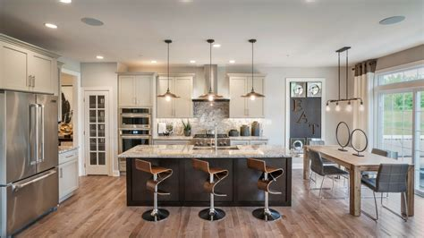 professionally decorated model homes
