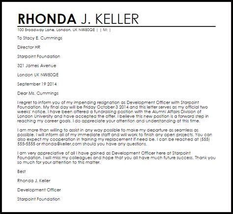 appreciative resignation letter  letter samples