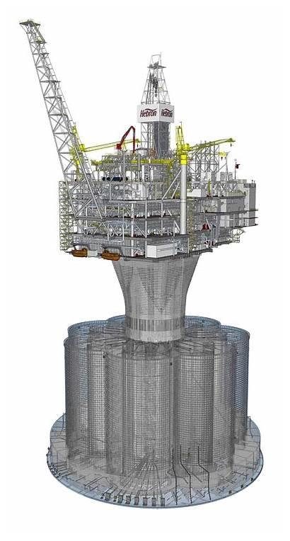 Hebron Platform Oil Offshore Field Newfoundland Project