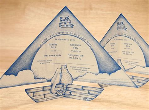 40+ Creative Wedding Invitation Cards You Need to See for