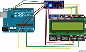 1602 Lcd Keypad Shield Module With I2c Backpack  6 Steps