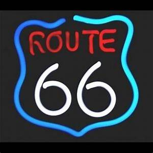 Get Your Kicks Route 66 Neon Sign on PopScreen