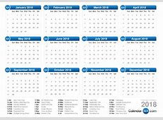 2018 Calendar PNG Transparent Images PNG All
