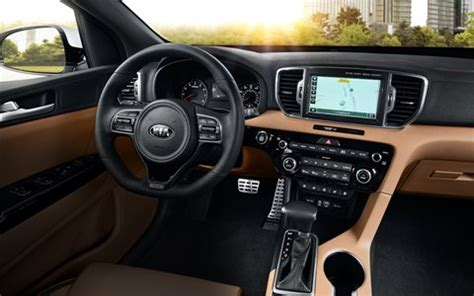 kia sportage 2017 interior 2017 kia sportage ex release date price specs and more