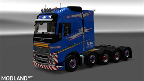 adm team heavy weight volvo fh paintjob  mod