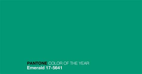 what color is emerald pantone color of 2013 emerald