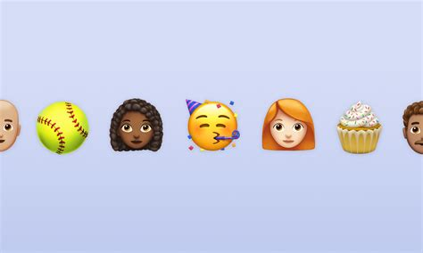 First Look At Apple's New Emojis