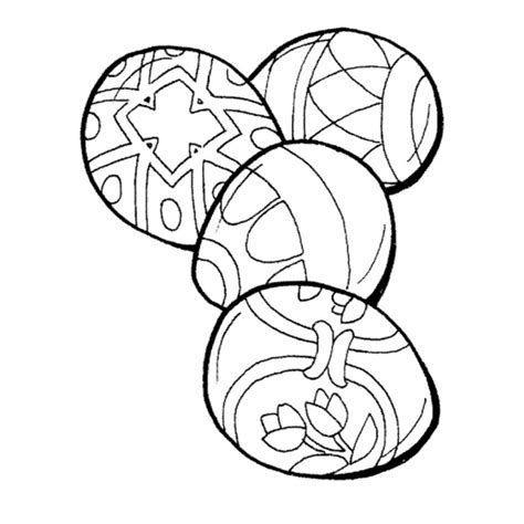 disegni per dipingere disegno di uova da dipingere da colorare per bambini