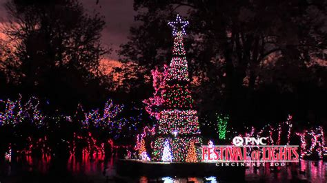 festival of lights cincinnati zoo