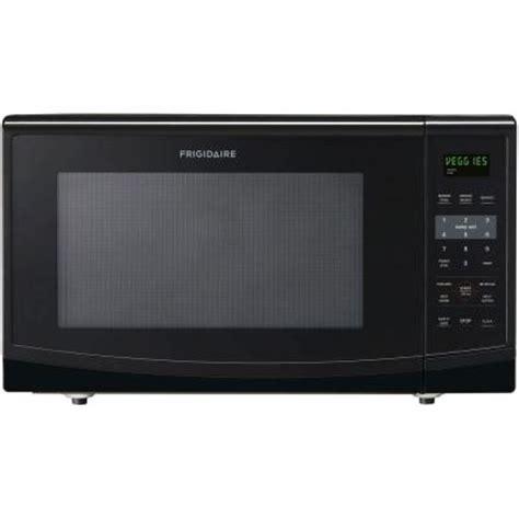 home depot countertop microwaves frigidaire 2 2 cu ft countertop microwave in black