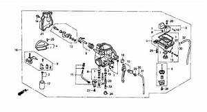 2003 Honda 400ex Carburetor Diagram