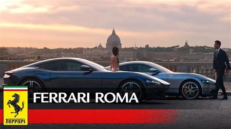 ferrari roma official video youtube